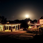 Moonrise over Circle S Ranch