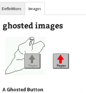 Word of the Day - ghosted