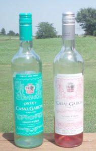 Vinho Verde-sweet and rose