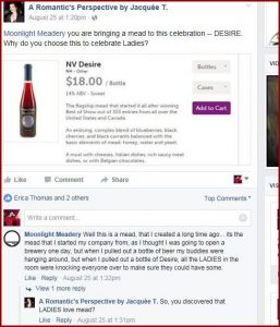 Michael Fairbrother of Moonlight Meadery re: why LADIES love mead