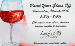 Paint Your Glass at Lynfred Winery